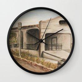 Inland Empire Drawing 2 Wall Clock