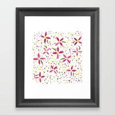 Petals and Joy Framed Art Print