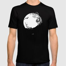 IO Black MEDIUM Mens Fitted Tee