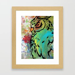 Owl #37 Framed Art Print
