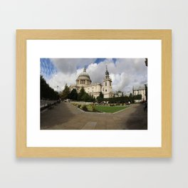 St. Paul's Cathedral Framed Art Print