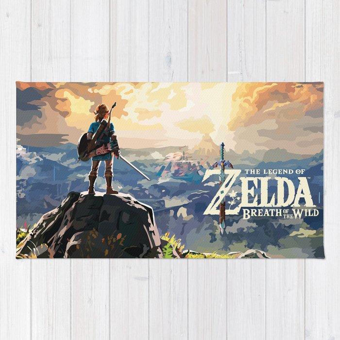 The Legend of Zelda - botw Rug