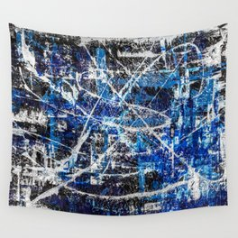 Cobalt Wall Tapestry