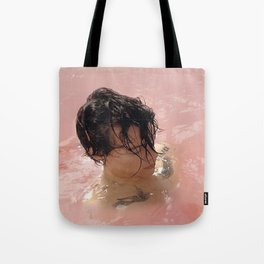 Harry Styles Pink Tote Bag