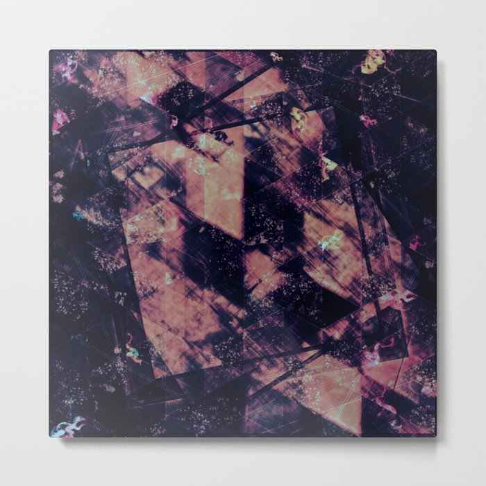 Abstract Geometric Background #15 Metal Print