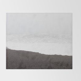 Lingering at the Lost Coast Throw Blanket