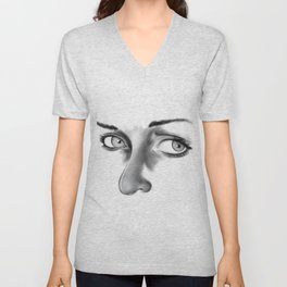 Thoughtful Unisex V-Neck