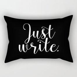 Just write. - Inverse Rectangular Pillow