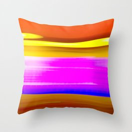 Abstrat colors Throw Pillow