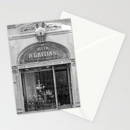 Traditionnal Tuscany Shop in Lucca Italy Stationery Cards