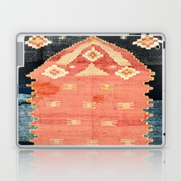 South West Anatolia  Antique Turkish Niche Kilim Print Laptop & iPad Skin