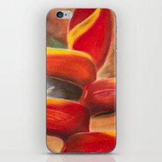 Heliconia iPhone & iPod Skin