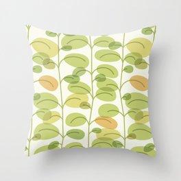 Green Soul Throw Pillow