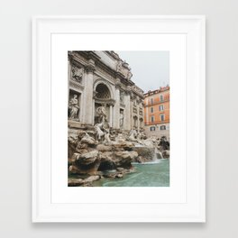 October's Trevi Framed Art Print