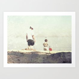 Fatherhood Art Print