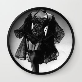 Iconic Images: Miss Topsy Wall Clock
