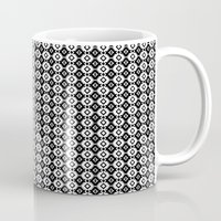indie Mugs featuring Indie by Priscila Peress
