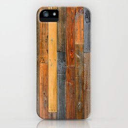 Jumbled Planks iPhone Case