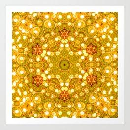 Star Of The Sun Art Print