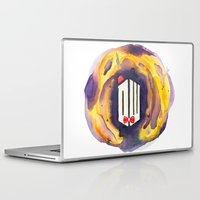doctor who Laptop & iPad Skins featuring Doctor Who by foreverwars