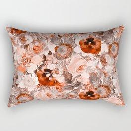 Floral Pattern III Rectangular Pillow