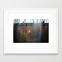 dublin Framed Art Prints featuring Dublin by Brugha