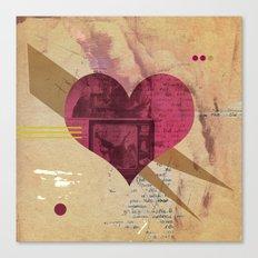 Valentine's Day Heart I Canvas Print