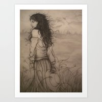The Wind That Blew My Heart Away Art Print