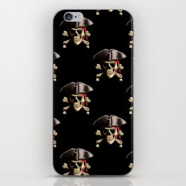 Jolly Roger And Hat iPhone Skin