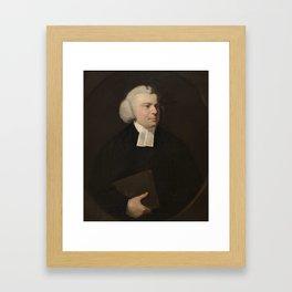 REYNOLDS, SIR JOSHUA Plympton (Reino Unido), 1723 - Londres, 1792 Portrait of a Clergyman 1756 - 176 Framed Art Print