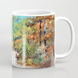On the Road to Belmont - Theodore Clement Steele Coffee Mug