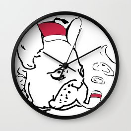 Ruffsevelt Wall Clock