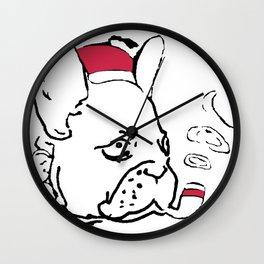 Ruffsevelt Wall Clock