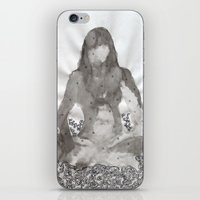 meditation iPhone & iPod Skins featuring Meditation by Condor