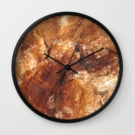 Martian soil Wall Clock