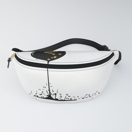 Flowing Music Fanny Pack