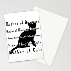 Mother of Cats Stationery Cards
