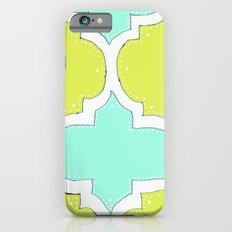 Morocco Yellow & Blue iPhone 6s Slim Case