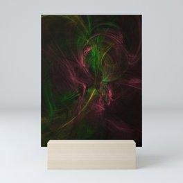 Träume - Syntetic - Abstrakt - Natural   (A7 B0161) Mini Art Print