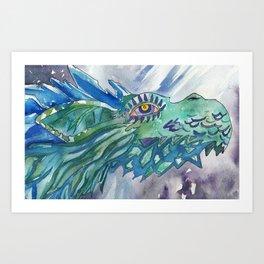 NAYDRA Art Print