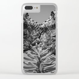 Red Admiral Butterflies Mating Clear iPhone Case