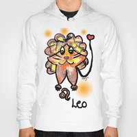 leo Hoodies featuring leo by sladja