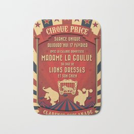 CIRQUE PRICE ROUGE Bath Mat