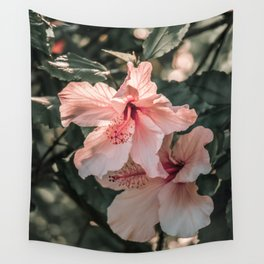 Hibiscus Flowers Wall Tapestry