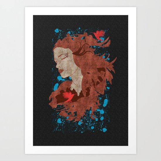 Cosmic dreams Art Print