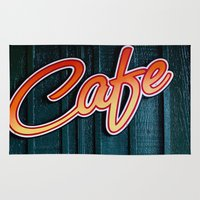 cafe Area & Throw Rugs featuring Cafe by Natasha
