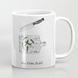 Chop It Coffee Mug
