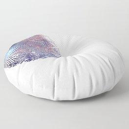 COSMIC TRACE Floor Pillow