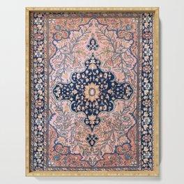 Sarouk  Antique West Persian Rug Print Serving Tray