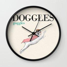 Doggles Wall Clock